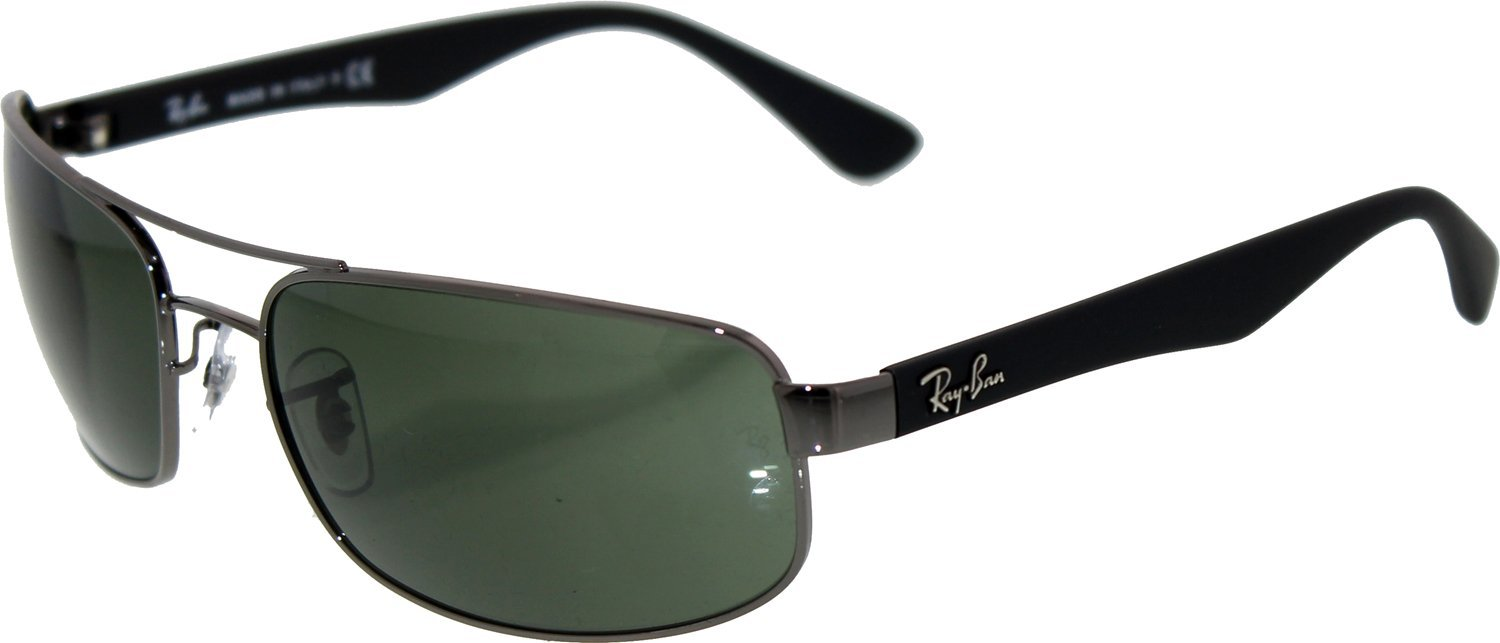 1118a84c1bd Ray-Ban RB 3445 Sunglasses.  143.00. color. Gunmetal   Green