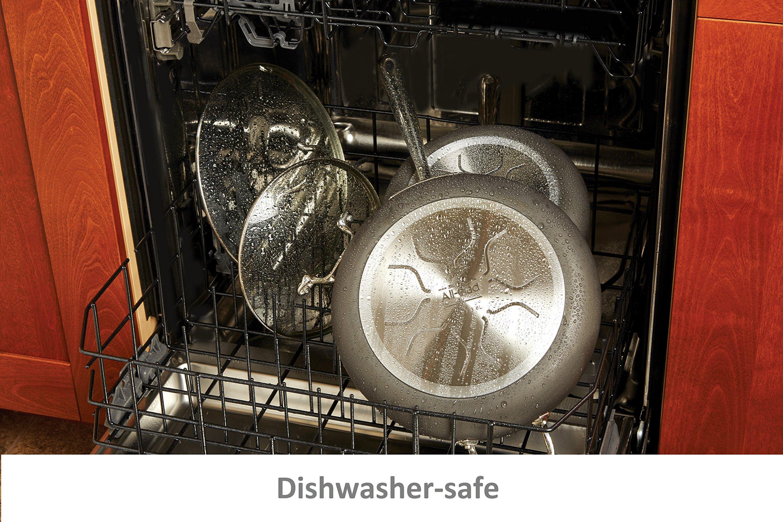 Amf Bz all-clad e7649764 ha1 hard anodized nonstick dishwasher safe pfoa free  roaster cookware, 13-inch16-inch, black