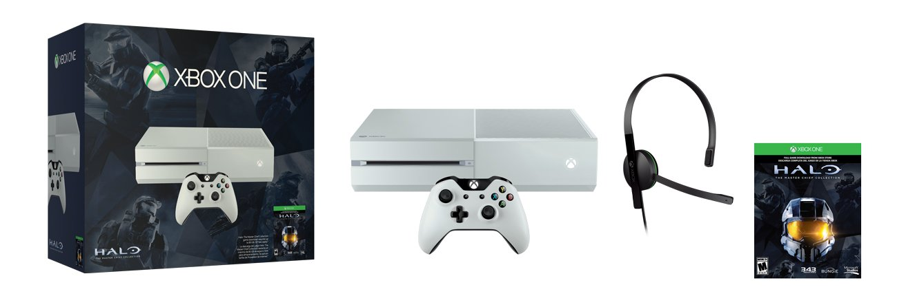 Xbox One Special Edition Halo The Master Chief Collection 500gb Bundle