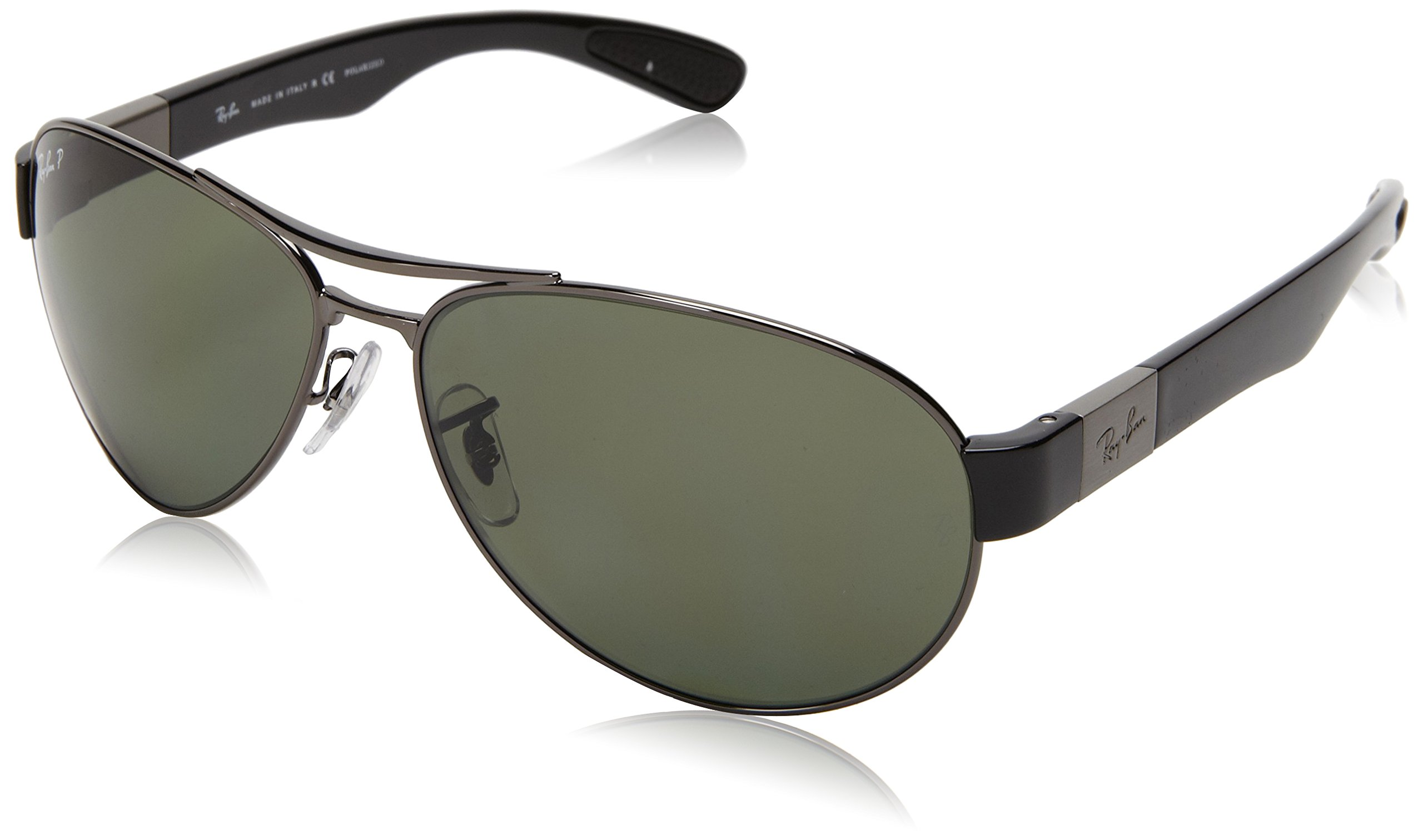 1737d9097e ... Ray-Ban 0RB3509 00682 Polarized Active Lifestyle Pilot Sunglasses ...